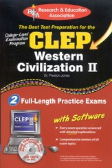 The Best Test Preparation for the CLEP - Western Civilization 2 w/CD-ROM