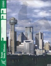 4th Edition Texas State History PACE 1080