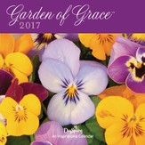 2017 Garden Of Grace Mini Wall Calendar