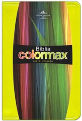 Biblia Colormax RVR 1960, Amarillo Soleado  (RVR 1960 Colormax Bible, Sunny Yellow)
