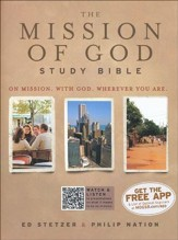 HCSB The Mission of God Study Bible, Paperback