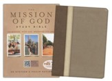 HCSB The Mission of God Study Bible, Brown, Cream & Taupe Simulated Leather