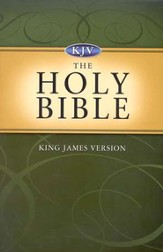 KJV Holy Bible, Value Edition