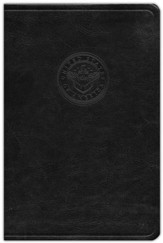 HCSB Sailor's Bible, Black Simulated Leather - Imperfectly Imprinted Bibles