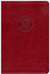 HCSB Marine's Bible, Burgundy Simulated Leather - Imperfectly Imprinted Bibles