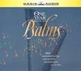 NLT One-Year Book of Psalms Audio Bible on CD