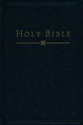 HCSB Pew/Church Bible Black Hardcover