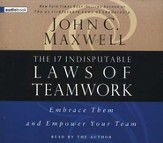 The 17 Indisputable Laws of Teamwork    - Audiobook on CD