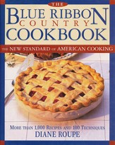 Blue Ribbon Country Cookbook  - Slightly Imperfect