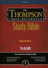 NASB Thompson Chain-Reference Bible, Hardcover, Thumb Indexed (Original NAS)