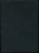 NASB Clarion Reference, Goatskin, black - Imperfectly Imprinted Bibles