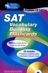 SAT Vocabulary Building Flashcards--Book and CD