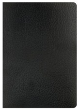 NKJV Super Giant Print Reference Bible, Black Imitation Leather - Slightly Imperfect