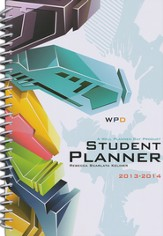 Well-Planned Day Student Planner (Tech Style, July 2013-June 2014)