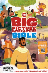 The Big Picture Interactive Bible (HCSB): Connecting Christ  Throughout God's Story, Hardcover - Slightly Imperfect