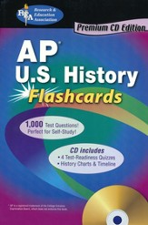 AP US History Flashcards with CDROM
