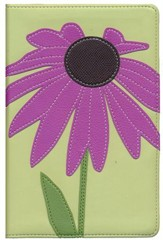 NIV Compact Bible, Purple Coneflower