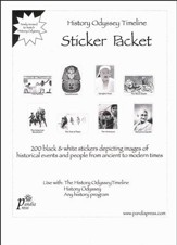 Timeline Sticker Packet