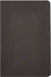 KJV Giant Print Reference Bible, Brown Genuine Cowhide, Thumb-Indexed - Imperfectly Imprinted Bibles
