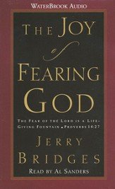 The Joy of Fearing God                      - Audiobook on Cassette