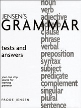 Jensen's Grammar Tests & Answers Booklet