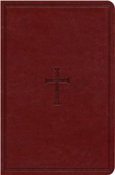 KJV Large Print Personal Size Reference Bible, Brown LeatherTouch, Thumb-Indexed