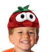 VeggieTales Bob Toddler Plush Beanie, Red