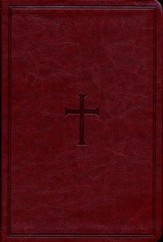 NKJV Large Print Personal Size Reference Bible, Brown LeatherTouch, Thumb-Indexed