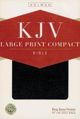 Holman KJV Large Print Compact Reference Bible  - Slightly  Imperfect