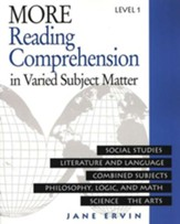 More Reading Comprehension Book Level 1, Grade 9