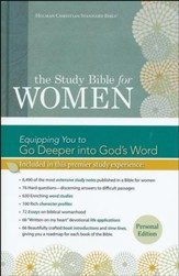 HCSB Study Bible for Women, Personal Size Edition--hardcover