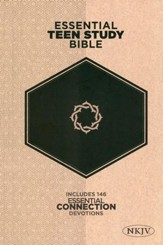 NKJV Essential Teen Study Bible, Hardcover