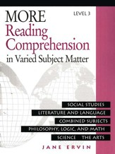 Reading Comprehension in Varied Subject Matter, Grade 11