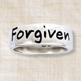 Forgiven Ring, Ephesians 1:7, Ladies Size Medium 6-7