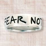 Fear Not Ring, Joshua 1:9, Men's Size Medium  9-10