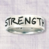 Strength Ring, Philippians 4:13, Men's Size Small 7-8