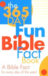 The 365-Day Fun Bible Fact Book  - Slightly Imperfect