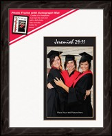 Graduate Photo Frame Jeremiah 29:11 (vertical)