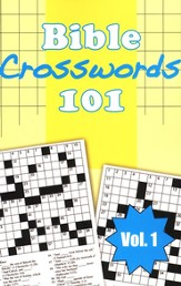 Bible Crosswords 101, Vol. 1