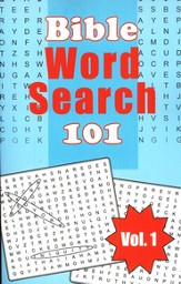 Bible Word Search 101, Vol. 1