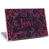 Live, Love Laptop Skin