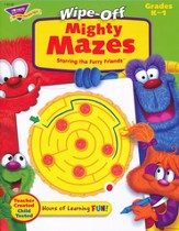 Mighty Mazes Wipe-Off Book