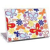 Faith, Peace, Love, Joy Laptop Skin