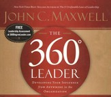 The 360 Degree Leader    Audiobook on CD