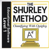 Shurley English Level 1 Educational Software