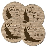 On Wings As Eagles Coasters, Box of 4