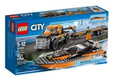 LEGO ® City 4x4 Pickup with Powerboat