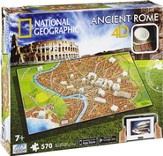 4D National Geographic, Ancient Rome, Cityscape Puzzle