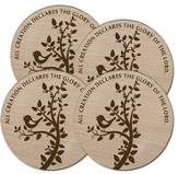 All Creation Declares the Glory Coasters, Box of 4