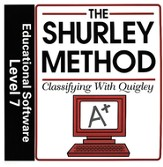Shurley English Level 7 Educational Software